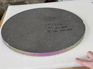 Silicon miror substrate